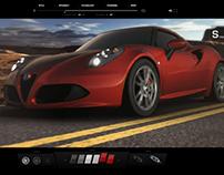 Alfa Romeo 4C car configurator