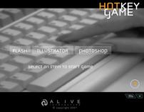 Hot Keys Game - Promotional Alive Interactive Media