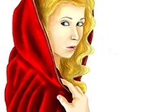 Little Red Riding Hood (Czerwony kapturek - ilustracje)