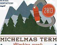Redesign - Uni of Durham Mountaineering Club Flyer