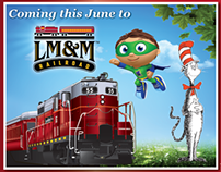 LM&M Railroad Magazine Ads