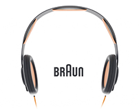 Braun Hi-fi Headphones
