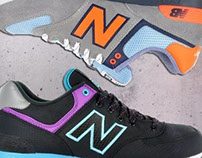 New Balance product shooting for spzn