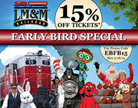 LM&M Railroad Banner Ads