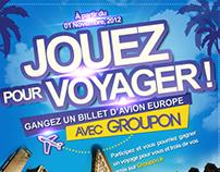 Affiche publicitaire 2 : Groupon