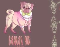 Barman Pug