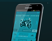 Dhoom 3 mobile game UI Design