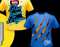 Ambev's t-shirt design