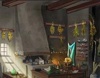 Concept Work: Dwarven Alchemist