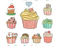 Su Su Cô Bé Cupcake/ Su Su The Cupcake Girl