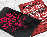 Skull Nite flyers vol. 2