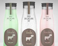 Milk Bottle - Packaging Design