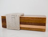 mail sack bench