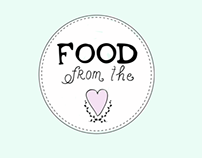 Food from the heart Branding