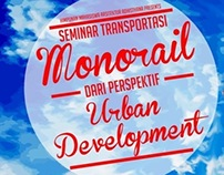 MONORAIL DARI PERSPEKTIF URBAN DEVELOPMENT