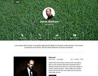 Jason Statham - Website Design