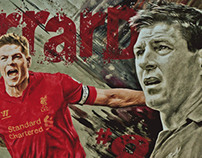 Sports Art - Steven Gerrard