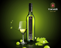 CHARDONNAY TIKVES -  Label Design