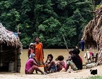 Malaysia, tribu Orang Asli. 07/2013