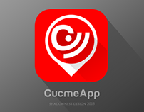 iOS7 Flat icon for Cucmeapp.com