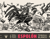 Espolon Tequila Packaging Illustrations