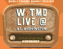 WTMD and WFM Mt. Washington poster