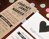 Wedding Invitations and Programs