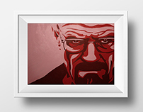 Pop Art Paintings (Walter White, Myself)