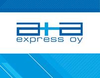 Полиграфия для AplusA Express OY