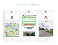 ID visual Parque do Ibirapuera e mobile APP map