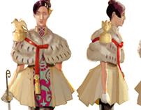 Character Design- Anju