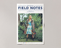 Anthropologie – Field Notes