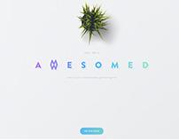 Awesomed website concept