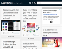 LazyBytes - Responsive Wordpress Theme