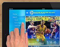 Maccabi Telaviv iPad App