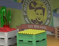 Stand Frutas Exóticas do Brasil