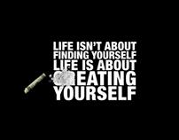 ... crEATING YOURSELF ...