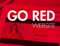 Go Red Ecuador website