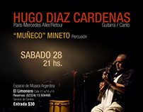 Hugo Diaz Cardenas Concert