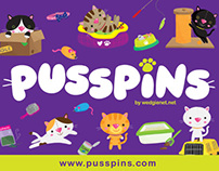 Pusspins