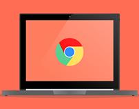 Chromebook Pixel (Front View) Render