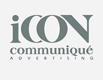 Icon Communique Logo and Branding