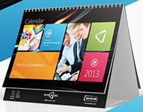 Business Desktop Calendar