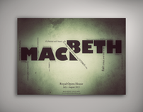 Macbeth Theatre Poster