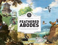 FEATHERED ABODES /// French Paper Sample Booklet