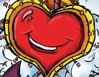 Barriga llena, corazon contento