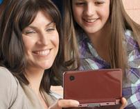 Nintendo DSi XL Festa della mamma Landing page