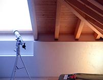 Chambrette sous les toits