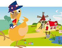 Zuegg Farm _ Online English Course _ Illustrations