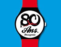 Monoprix 80th Anniversary Watches